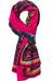 Sherpa Beyul sjaal Dames roze/blauw
